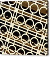 Metal Pattern Acrylic Print