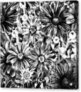 Metal Petals Acrylic Print