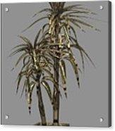 Metal Plant In Pot 13 Acrylic Print