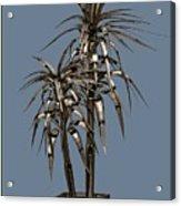 Metal Plant In Pot 14 Acrylic Print