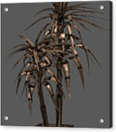 Metal Plant In Pot 15 Acrylic Print