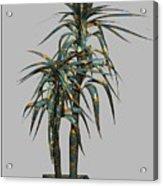 Metal Plant In Pot 4 Acrylic Print