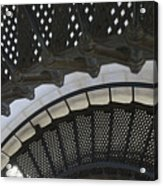 Metal Stair Case Acrylic Print