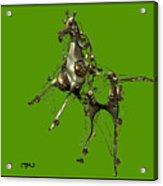 Metal Statuette 10ms Acrylic Print
