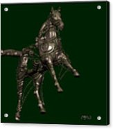 Metal Statuette 19ms Acrylic Print