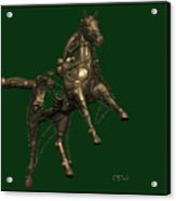 Metal Statuette 20ms Acrylic Print