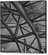 Metal  Structure Acrylic Print