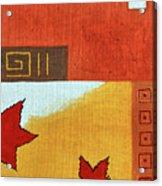 Metaleaf 2 Acrylic Print