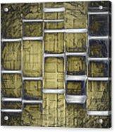 Metallic Amber Acrylic Print