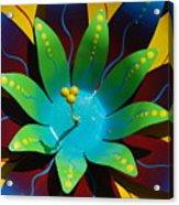 Metallic Flora Acrylic Print