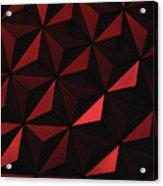 Metallic Pinwheels Acrylic Print