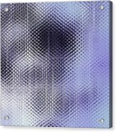 Metallic Weaving Pattern Acrylic Print