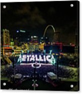 Metallica In Stl Acrylic Print