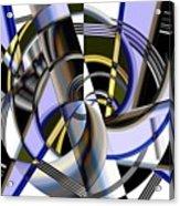 Metallics 5 Acrylic Print
