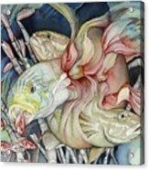 Metamorphose De Poissons Acrylic Print