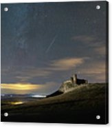 Meteors Above The Fortress Acrylic Print