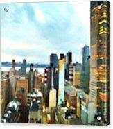 Metro Skyline Acrylic Print