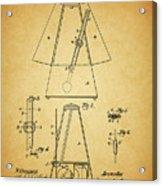 Metronome Patent Acrylic Print