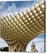 Metropol Parasol At The Plaza Of The Incarnation In Seville Spai Acrylic Print