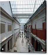 Metropolitan Museum Of Art Acrylic Print