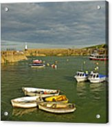 Mevagissey Outer Harbour Acrylic Print