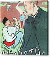Mevisto In The Country French Theatre Ad Acrylic Print