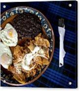 Mexican Breakfast Acrylic Print