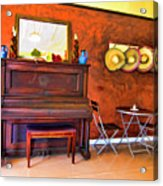 Mexican Cafe Acrylic Print