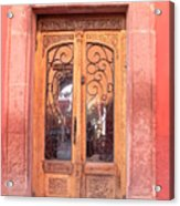 Mexican Doorway 2 Acrylic Print