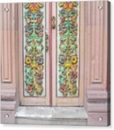 Mexican Doorway 3 Acrylic Print