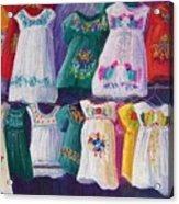 Mexican Dresses Acrylic Print