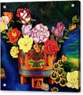 Mexican Flowers Acrylic Print