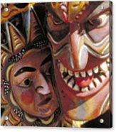 Mexican Masks Acrylic Print