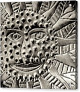 Mexican Mirror Detail Acrylic Print