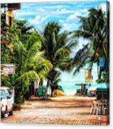Mexican Side Street Acrylic Print