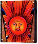 Mexican Sun Acrylic Print