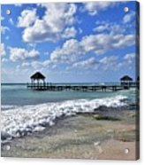 Mexico Beaches Acrylic Print