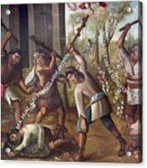 Mexico: Christian Martyrs Acrylic Print