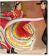 Mexico City Ballet Folklorico Acrylic Print