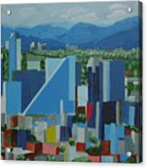 Mexico City  Acrylic Print