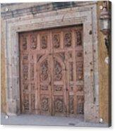 Mexico Door 1 By Tom Ray Acrylic Print
