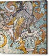 Mexico: Ixmiquilpan Fresco Acrylic Print