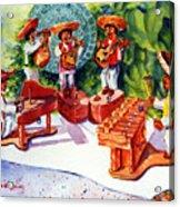 Mexico Mariachis Acrylic Print