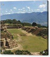 Mexico: Monte Alban Acrylic Print