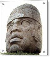 Mexico: Olmec Head Acrylic Print