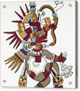 Mexico: Quetzalcoatl Acrylic Print