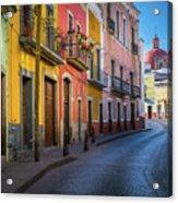 Mexico Street Acrylic Print