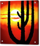 Mexico Sunset Acrylic Print