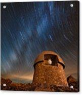 Meyer Womble Star Trails Acrylic Print