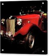 Mg Midget Roadster Acrylic Print